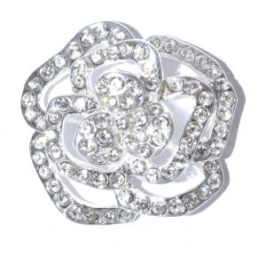 126B Crystal Rose Silver